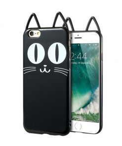 Silicone Cat Ear iPhone Case Stunning Pets Cat 2 For iPhone 6 6s