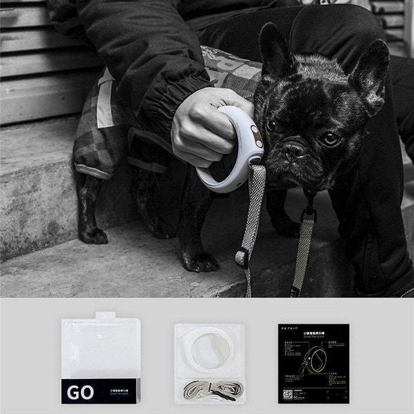 SMARTLEASH™: Smart Leash with Bluetooth Connectivity and LED Lights PETKIT Leash Glamorous Dogs