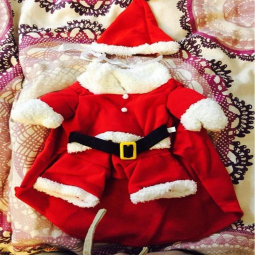 S/M/L/XL Costume the Red Dog Clothes for Christmas Stunning Pets