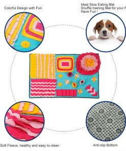 Snuffle Mat Nosework Blanket Stress Release - Perfect for Any Breed GlamorousDogs