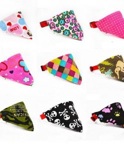 STYLISH ADJUSTABLE BANDANA FOR PUPPIES/CATS Stunning Pets