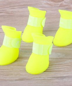 Summer Dog Shoes Stunning Pets Fluorescent green S