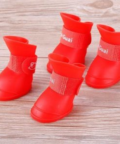 Summer Dog Shoes Stunning Pets Red S