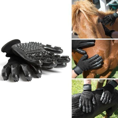 SUPERGLOVES™: Multi-Functional Grooming Glove for Pets grooming Stunning Pets