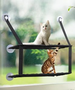 Super Sturdy Cat Perch Hammock Window | Best Gifts for Cat Lovers July Test GlamorousDogs