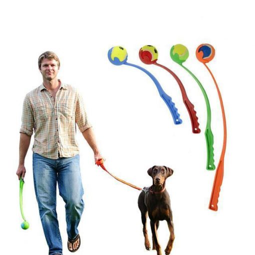 Tennis ball Launcher Stunning Pets Random Color 50cm