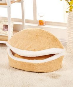 The Hamburger Shape Pet Bed Stunning Pets as the picture 1 L 55X40cm
