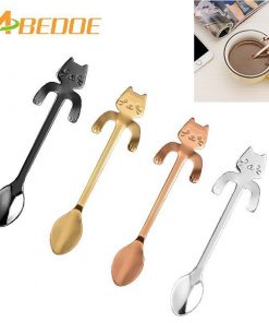 The Hugging Kitty Spoon Stunning Pets