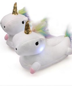 The Magical Glowing Unicorn Slippers Stunning Pets