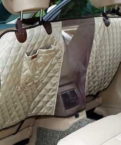 The Multi-Function Backseat Barrier Stunning Pets Khaki