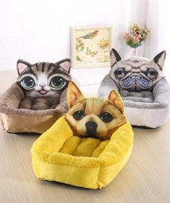 The Soft Cartoon Pet Bed Stunning Pets