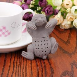 The Tea Buddy, BPA-free Silicone Infuser l Free Shipping Tea infuser GlamorousDogs Sloth