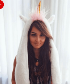 Unicorn Hat Neck Pillow Stunning Pets