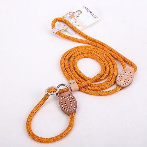 "Upgraded Dog Leash ""For Big Dogs"" Stunning Pets Orange L 1.4x150cm"