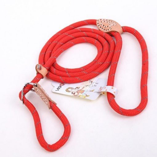 "Upgraded Dog Leash ""For Big Dogs"" Stunning Pets Red L 1.4x150cm"