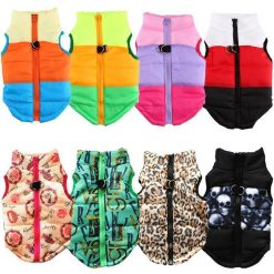 Warm Dog Clothes For Small Dog Windproof Winter Pet Dog Coat Jacket Clothes Padded Puppy Outfit Yorkies Chihuahua Winter Clothes Stunning Pets