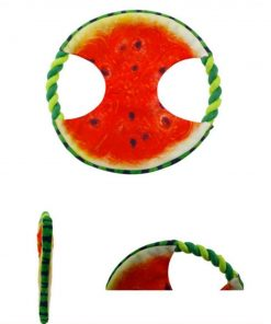 Watermelon & Banana Dog Toys | Best Chewing Dog Toys GlamorousDogs Watermelon Toy