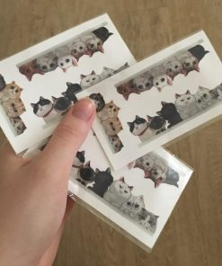 Waterproof Temporary Tattoo lovely cats Sticker Stunning Pets 3 pieces of cat