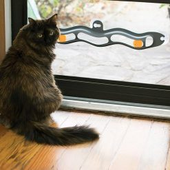 Window-suction Cat Toy | Top Interactive Cat Toys | Free Shipping For Cats ROI test GlamorousDogs ATC