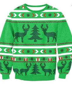 Xmas Pet Sweatshirt for Men & Women Stunning Pets 4 S